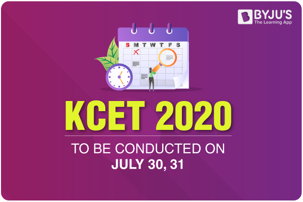 KCET 2020 To Be Conducted On July 30, 31