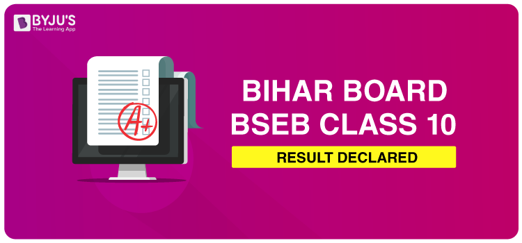 BSEB Class 10 Results Declared