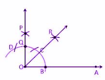 Class 9 Maths Constructions MCQs 2
