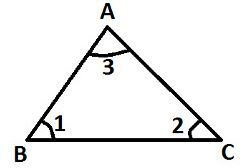 Sum of Interior Angles in a Triangle