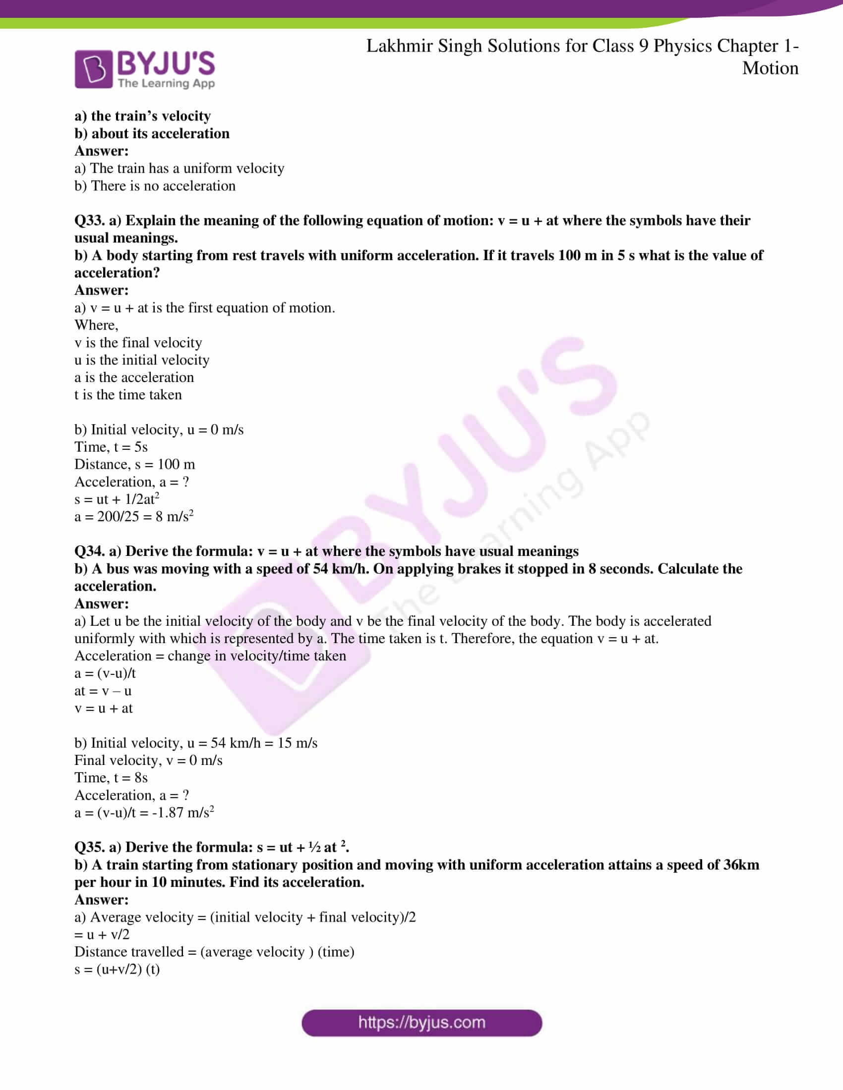 lakhmir singh solutions class 9 physics chapter 1 19