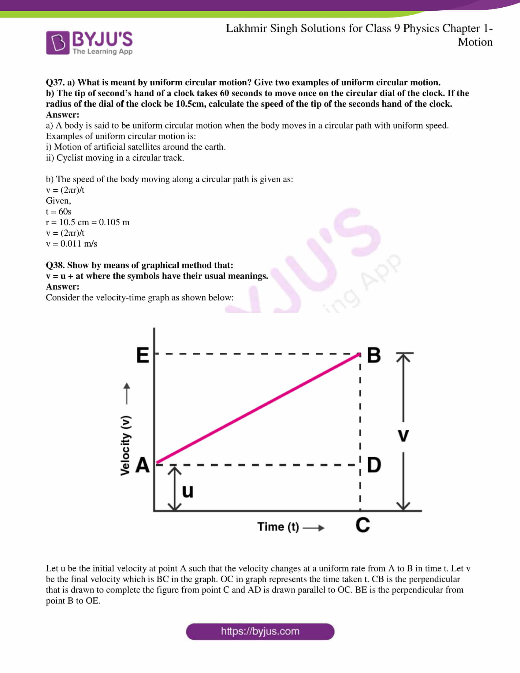lakhmir singh solutions class 9 physics chapter 1 21
