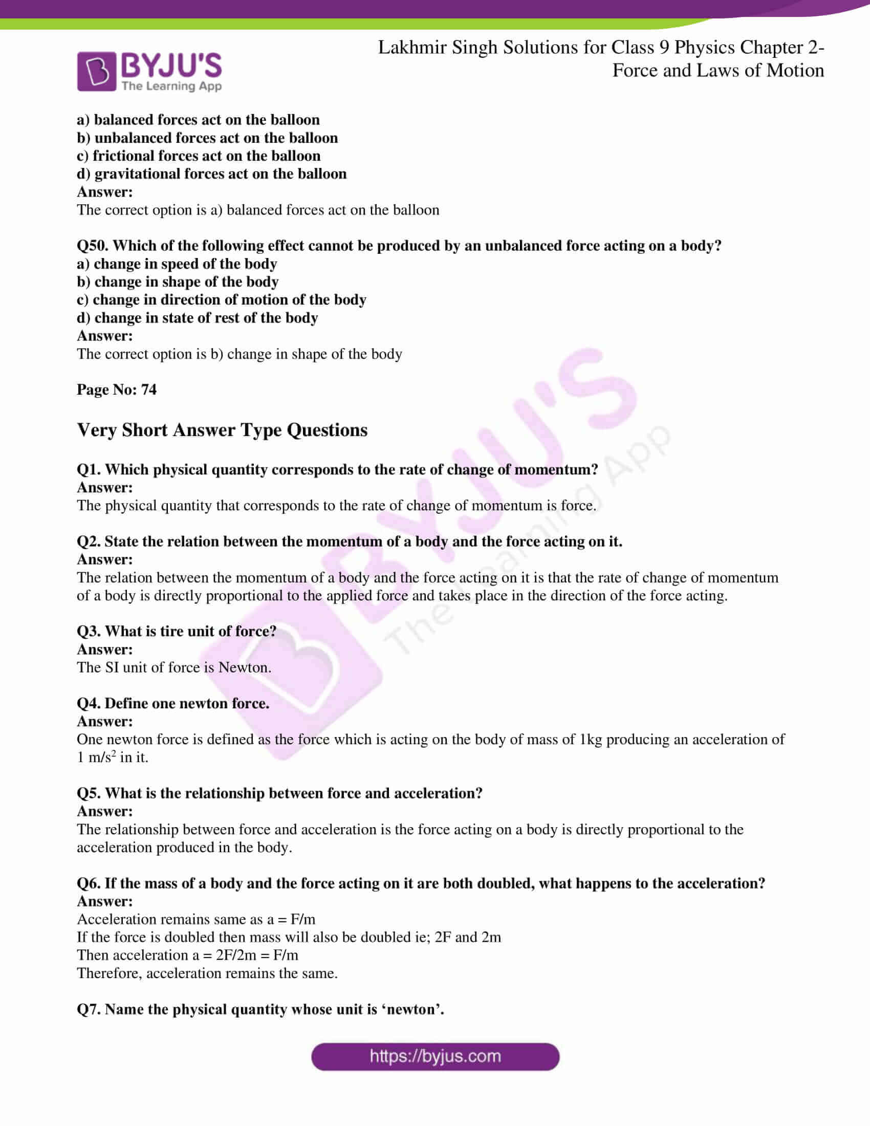 lakhmir singh solutions class 9 physics chapter 2 08