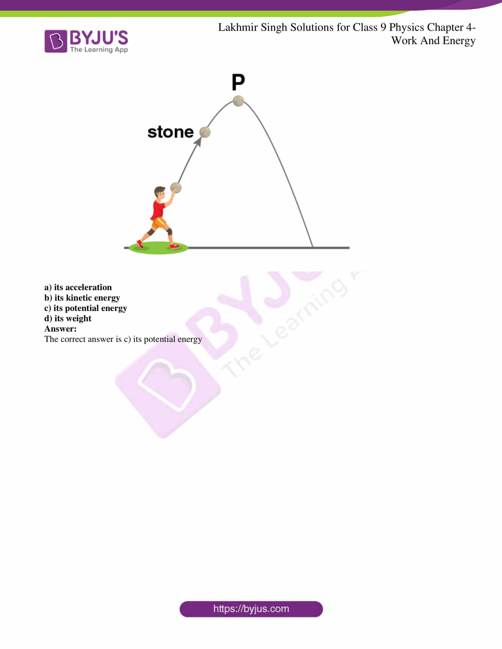 lakhmir singh solutions class 9 physics chapter 4 15