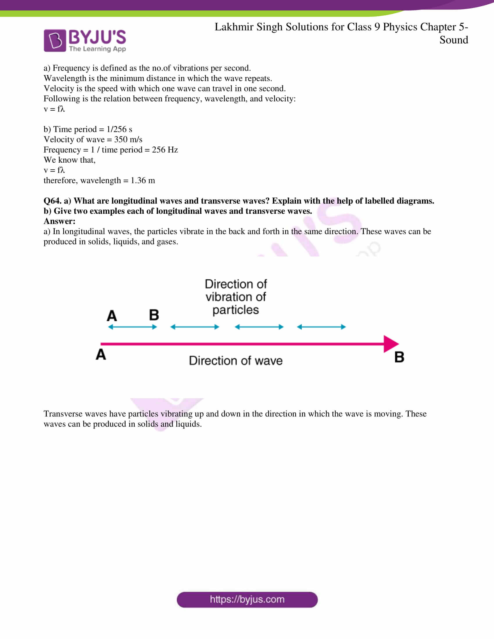lakhmir singh solutions class 9 physics chapter 5 11