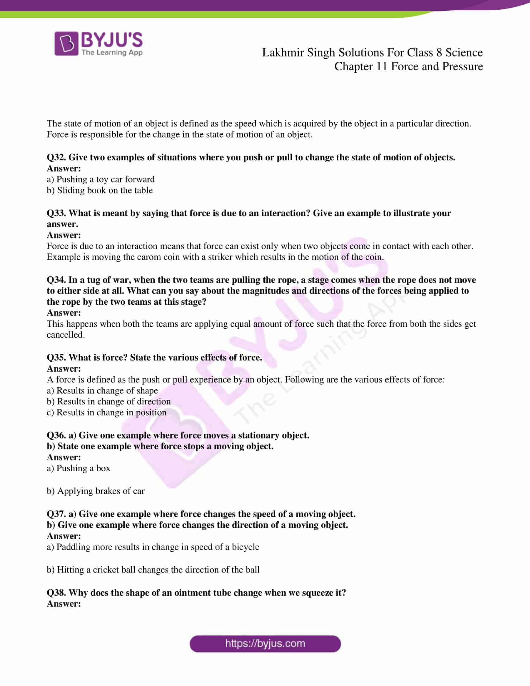lakhmir singh solutions for class 8 science chapter 11 05