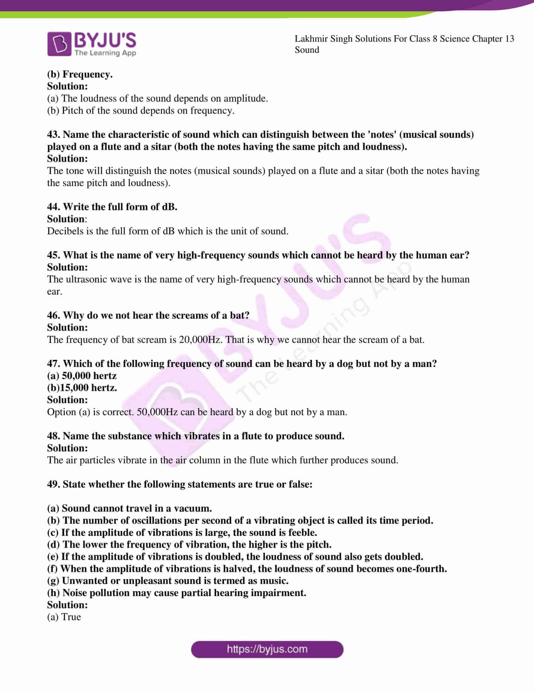 lakhmir singh solutions for class 8 science chapter 13 6