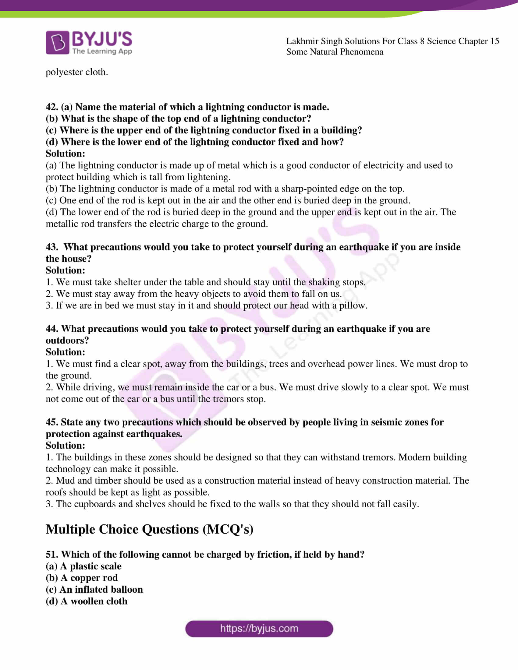 lakhmir singh solutions for class 8 science chapter 15 07