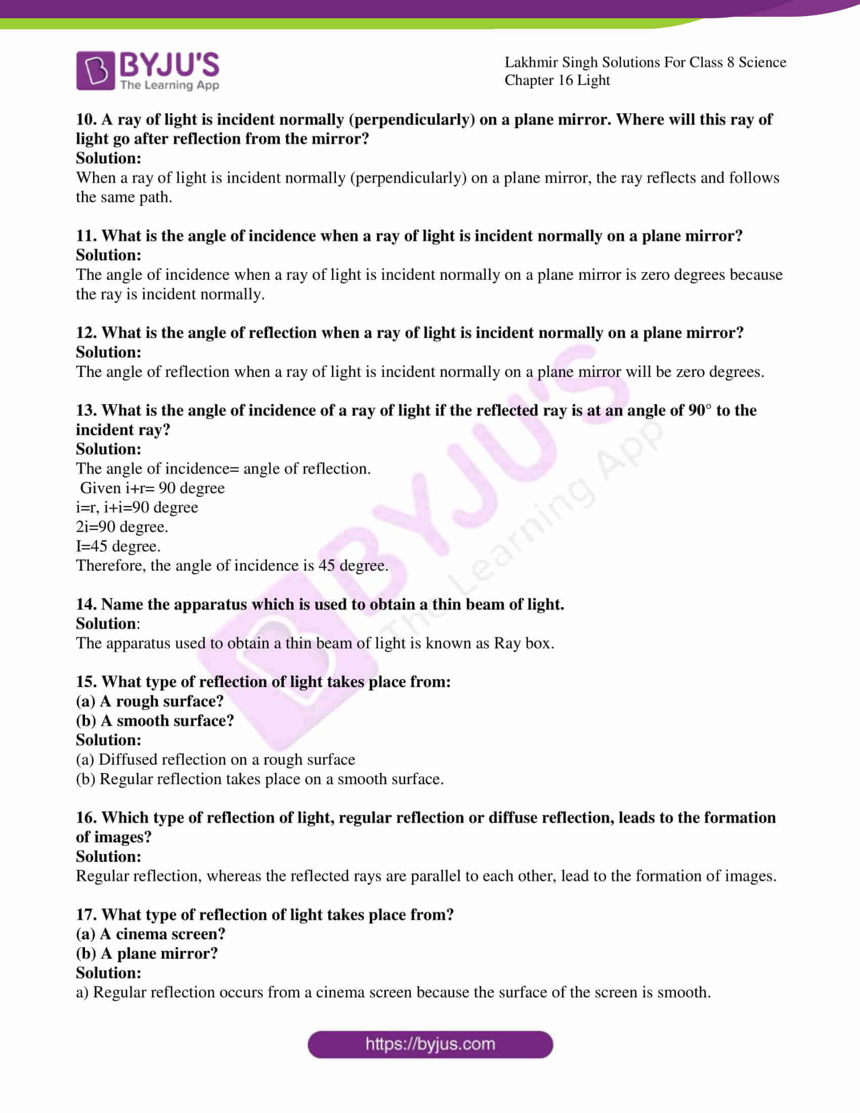 lakhmir singh solutions for class 8 science chapter 16 2