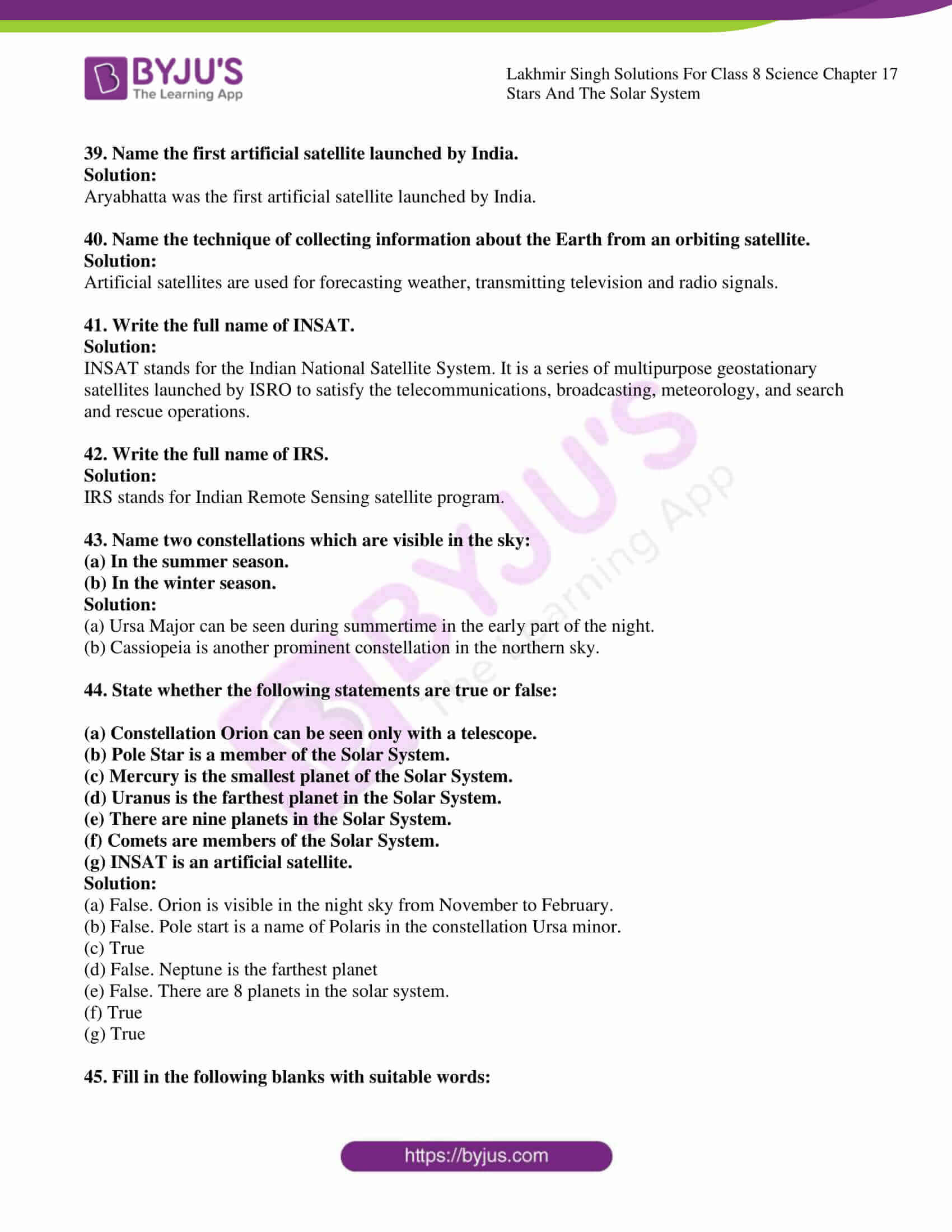 lakhmir singh solutions for class 8 science chapter 17 5