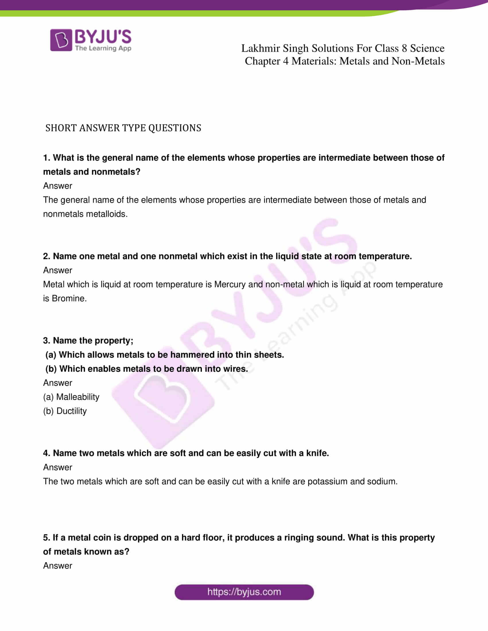 lakhmir singh solutions for class 8 science chapter 4 01