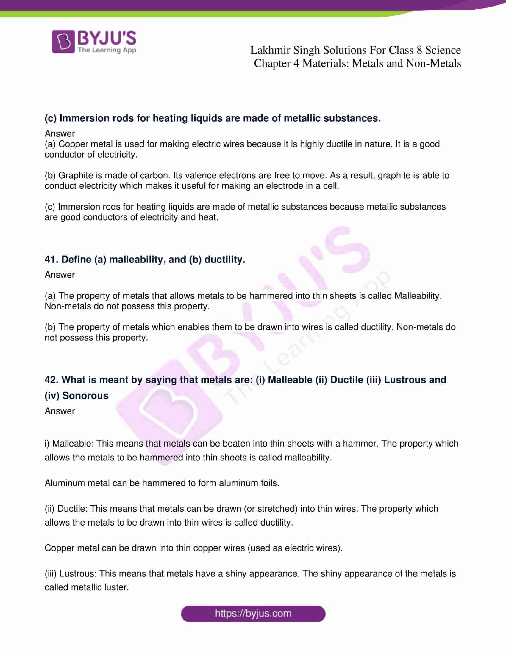lakhmir singh solutions for class 8 science chapter 4 09