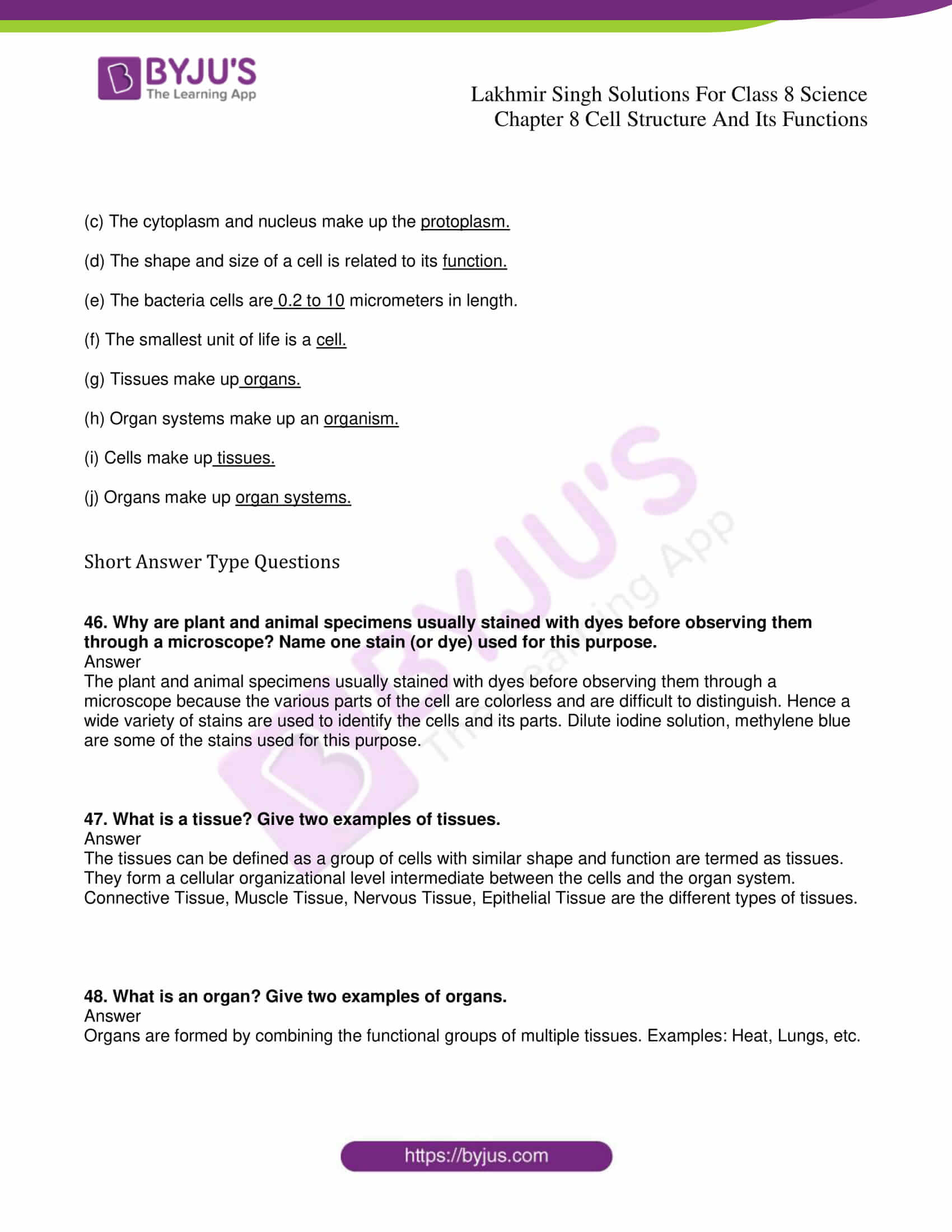 lakhmir singh solutions for class 8 science chapter 8 8