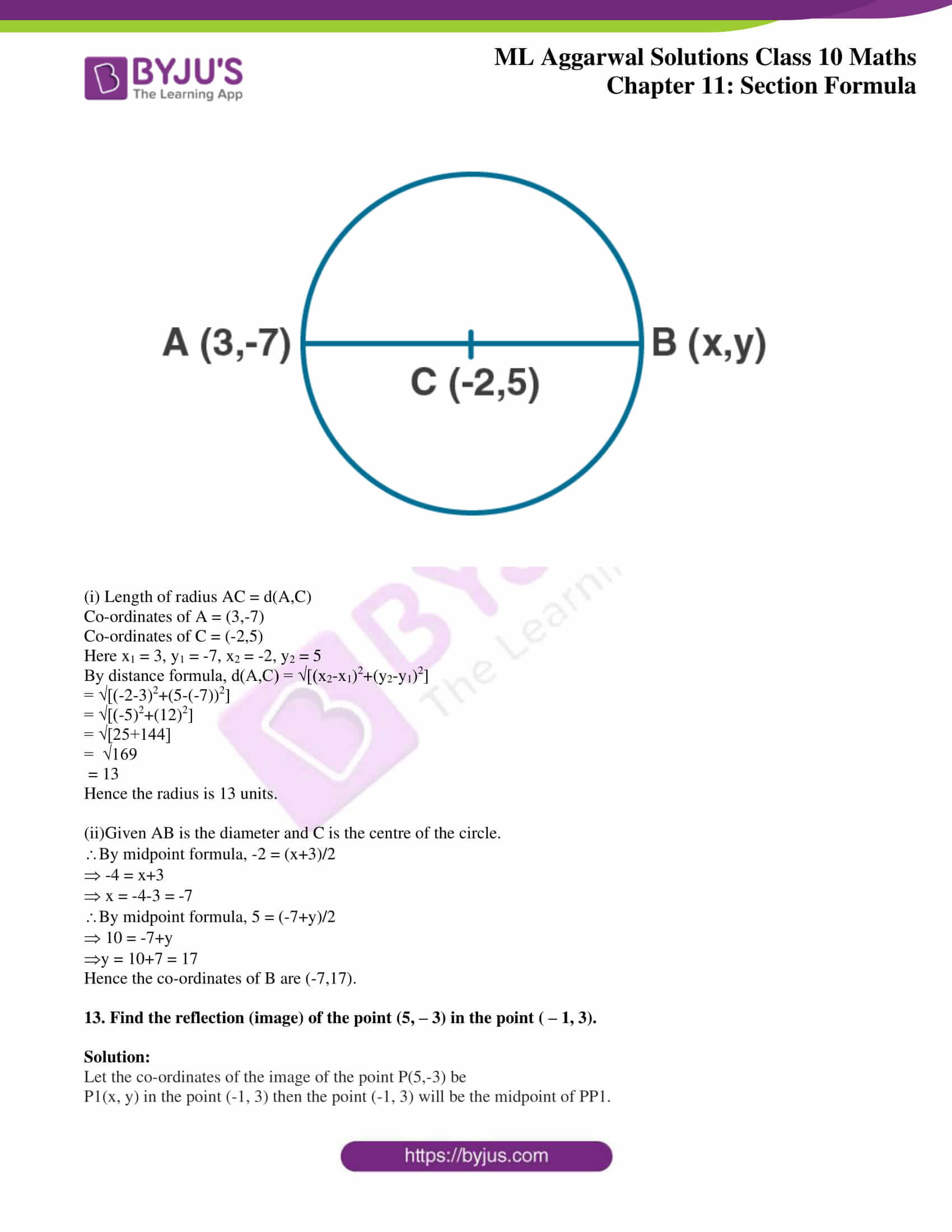ml aggarwal solutions class 10 maths chapter 11 10