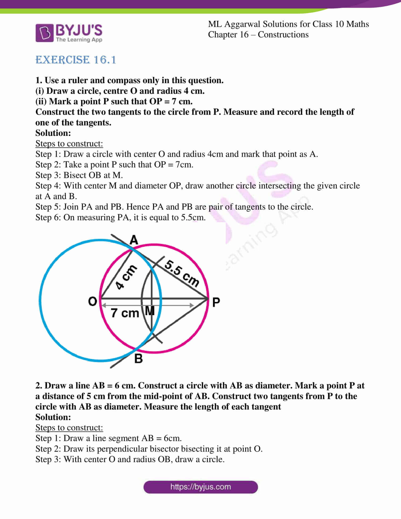 ml aggarwal solutions class 10 maths chapter 16 01