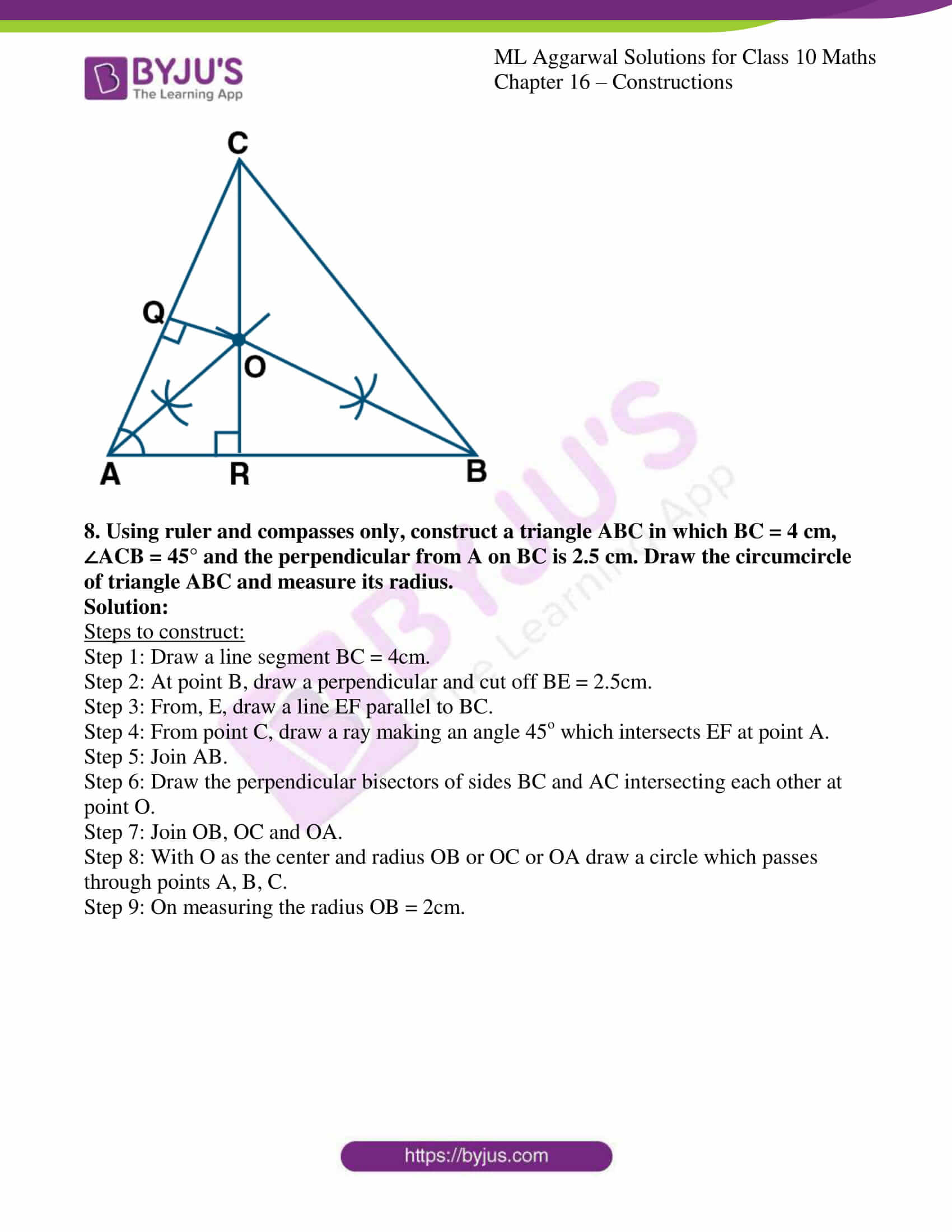 ml aggarwal solutions class 10 maths chapter 16 12