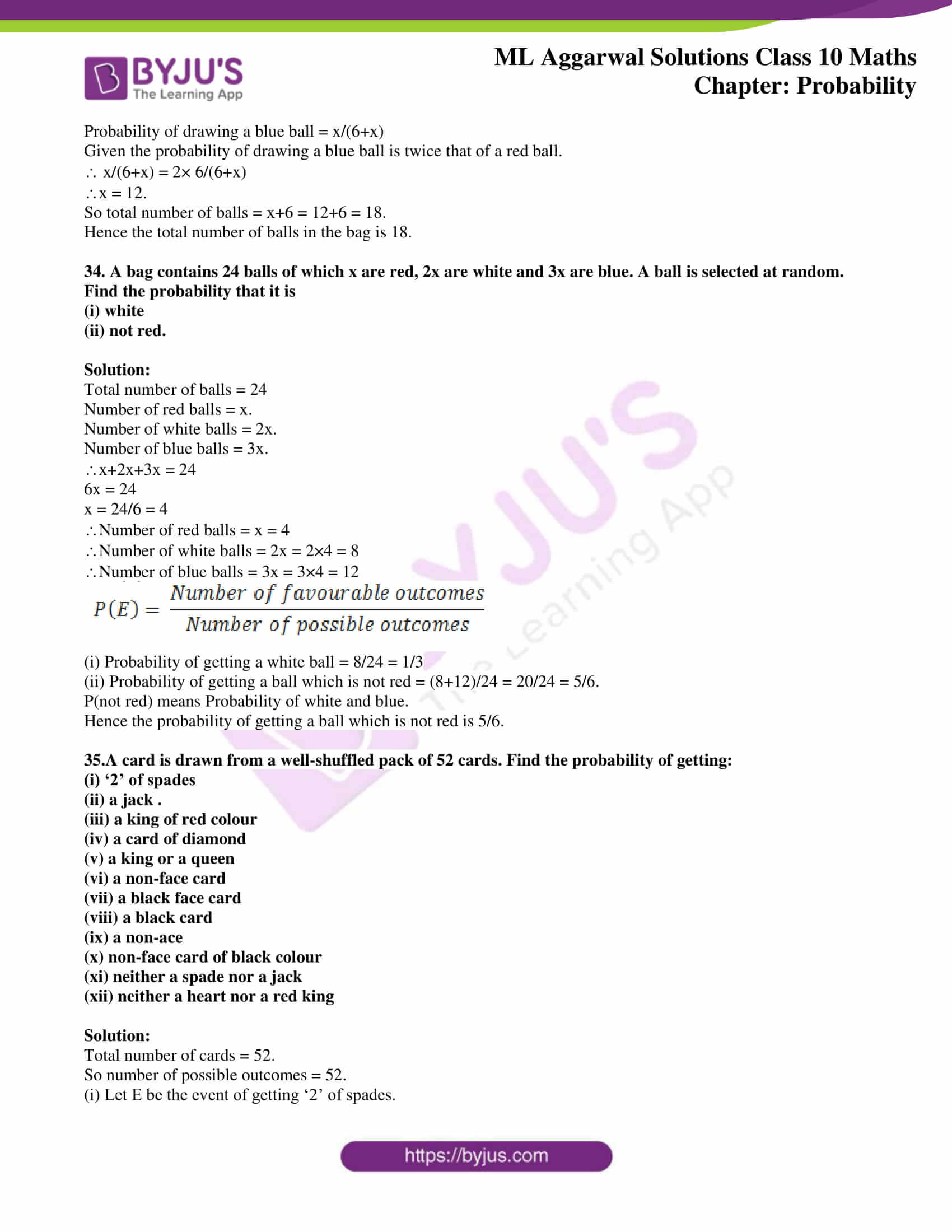 ml aggarwal solutions class 10 maths chapter 22 22