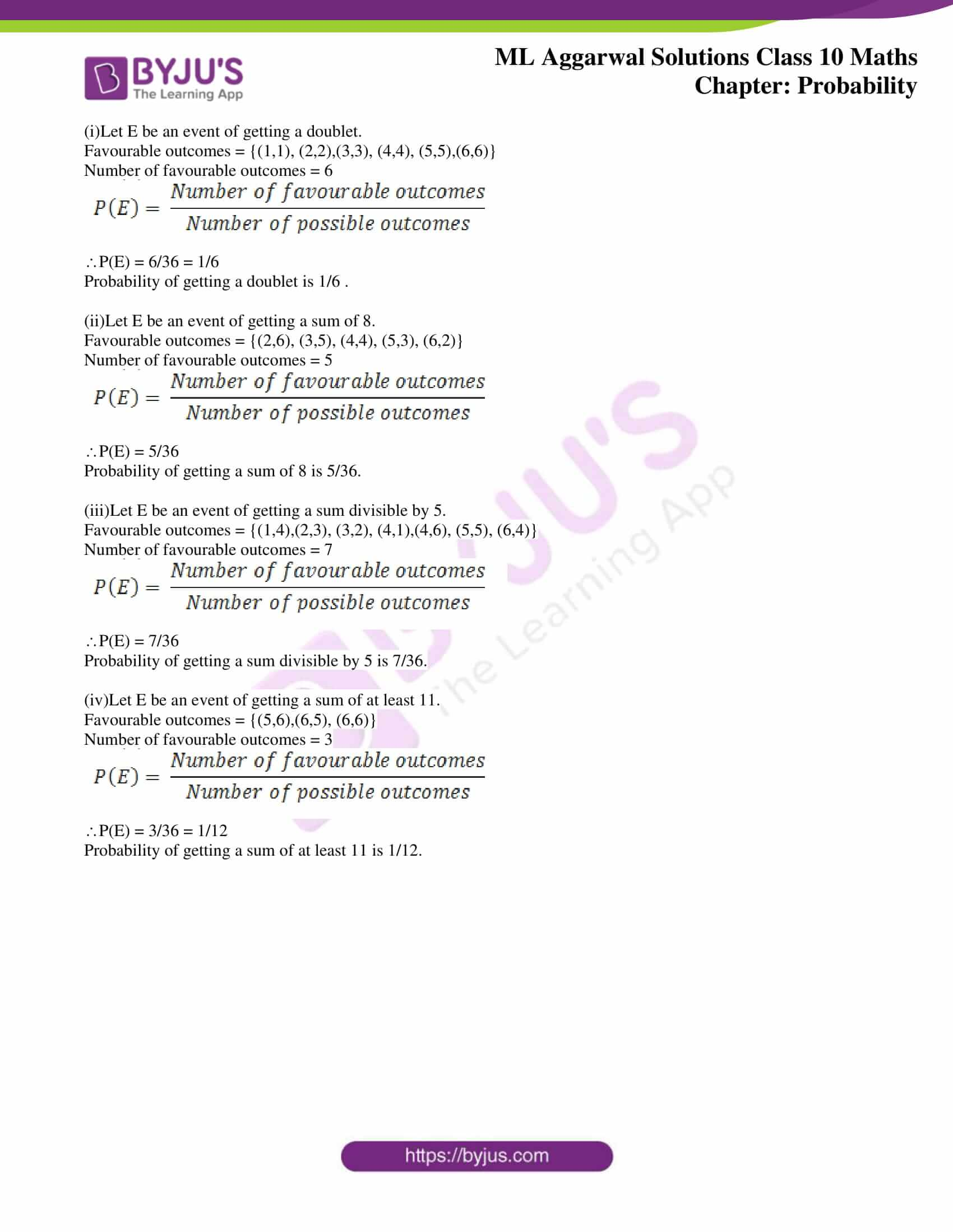 ml aggarwal solutions class 10 maths chapter 22 30