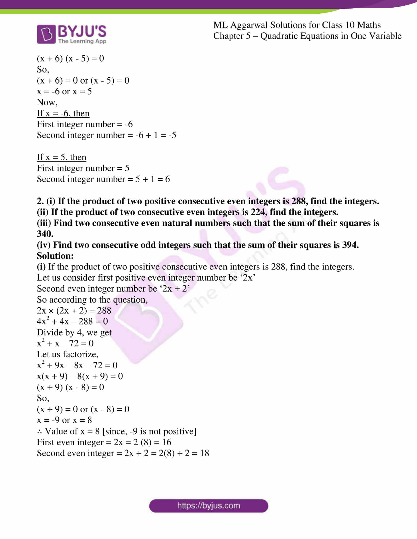ml aggarwal solutions class 10 maths chapter 5 48