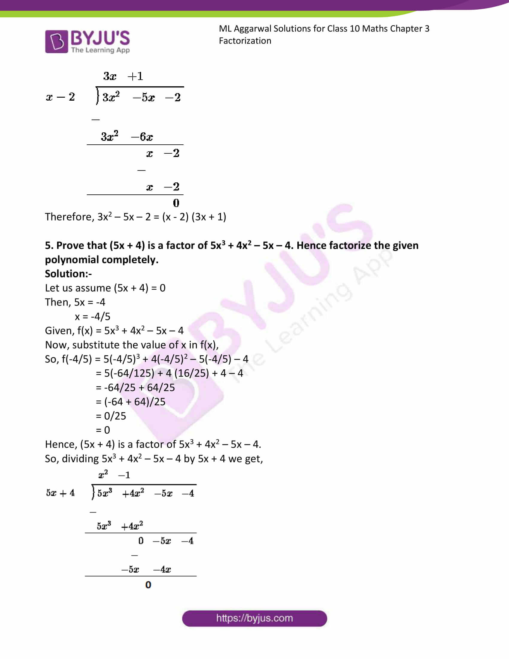 ml aggarwal solutions class 10 maths chapter 6 34
