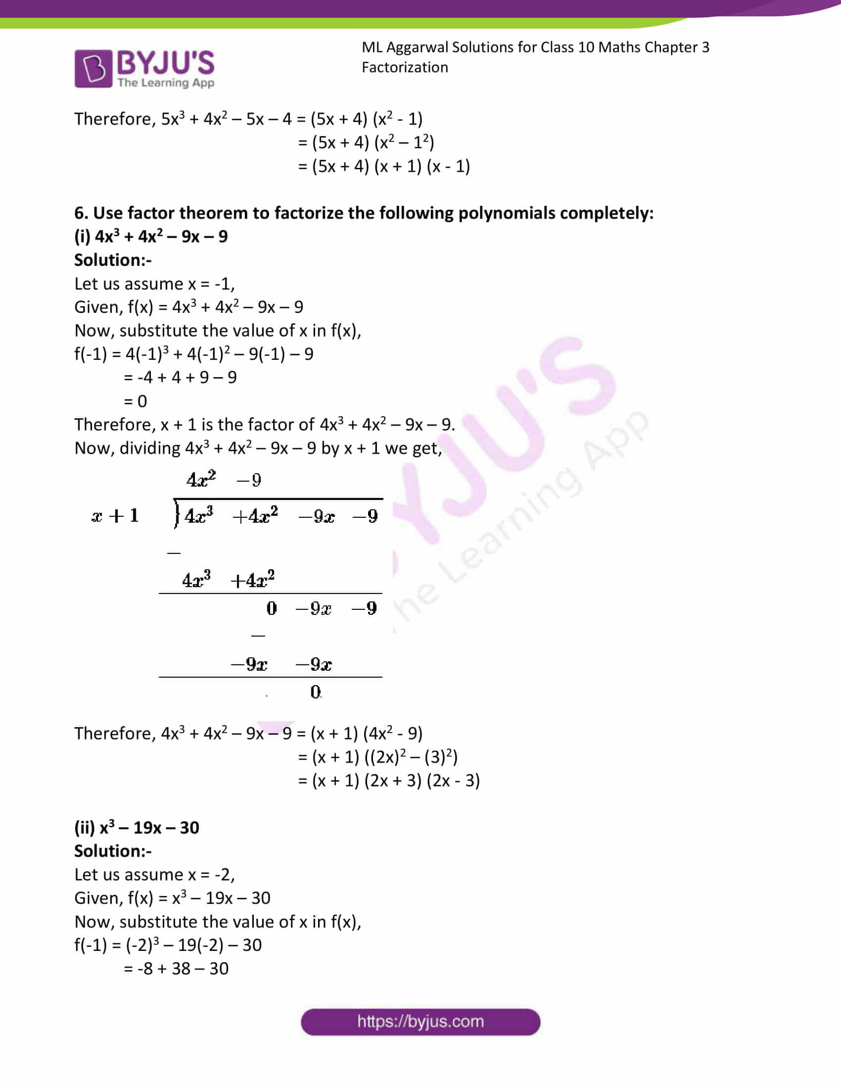 ml aggarwal solutions class 10 maths chapter 6 35