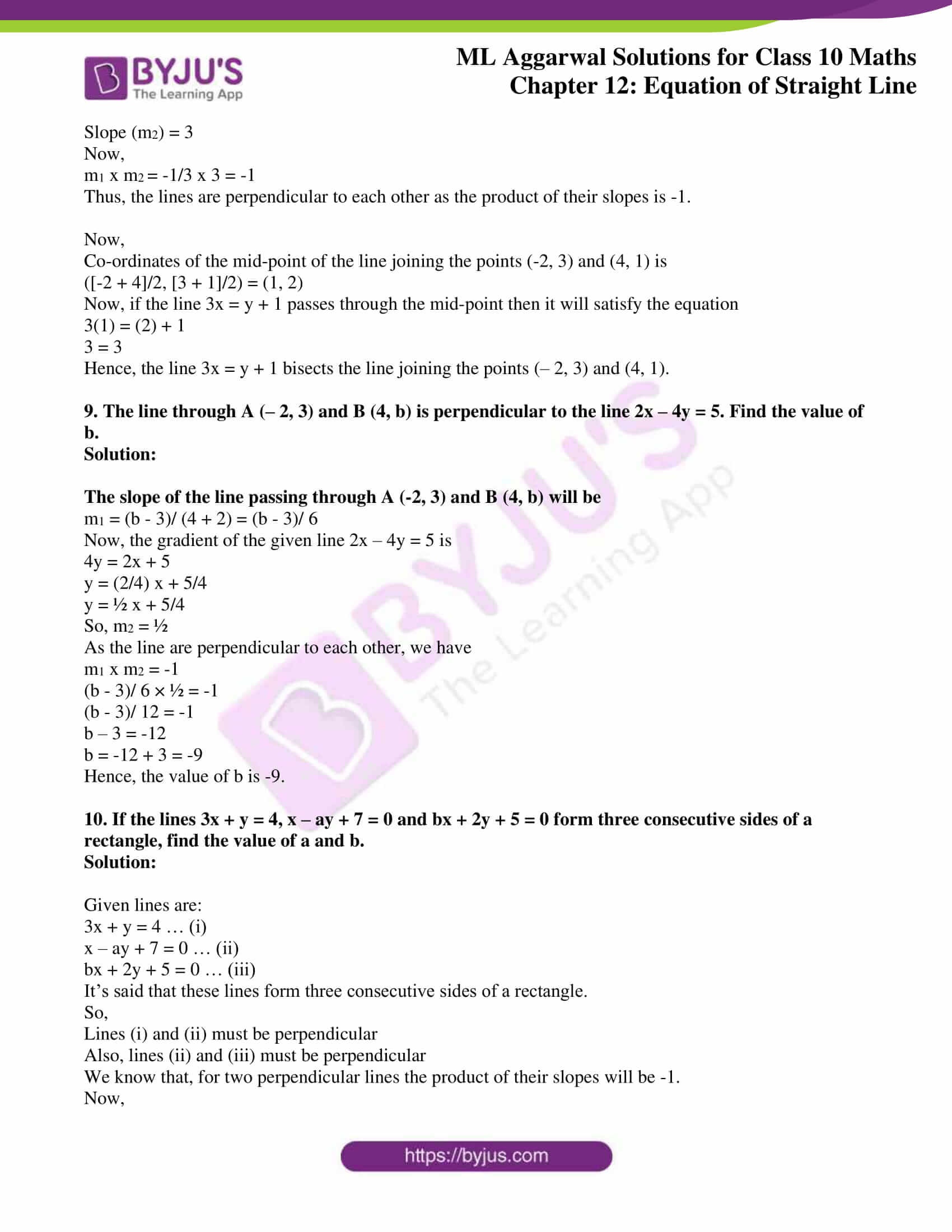 ml aggarwal solutions for class 10 maths chapter 12 18