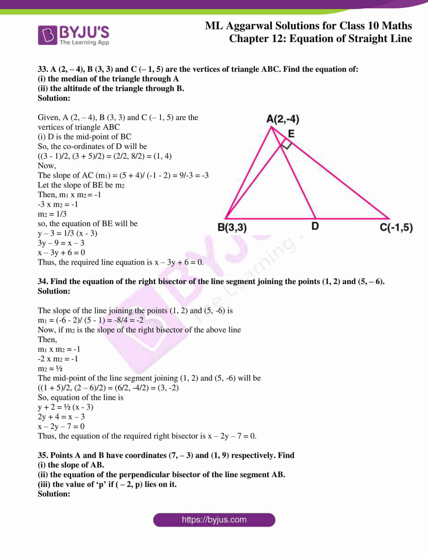ml aggarwal solutions for class 10 maths chapter 12 29