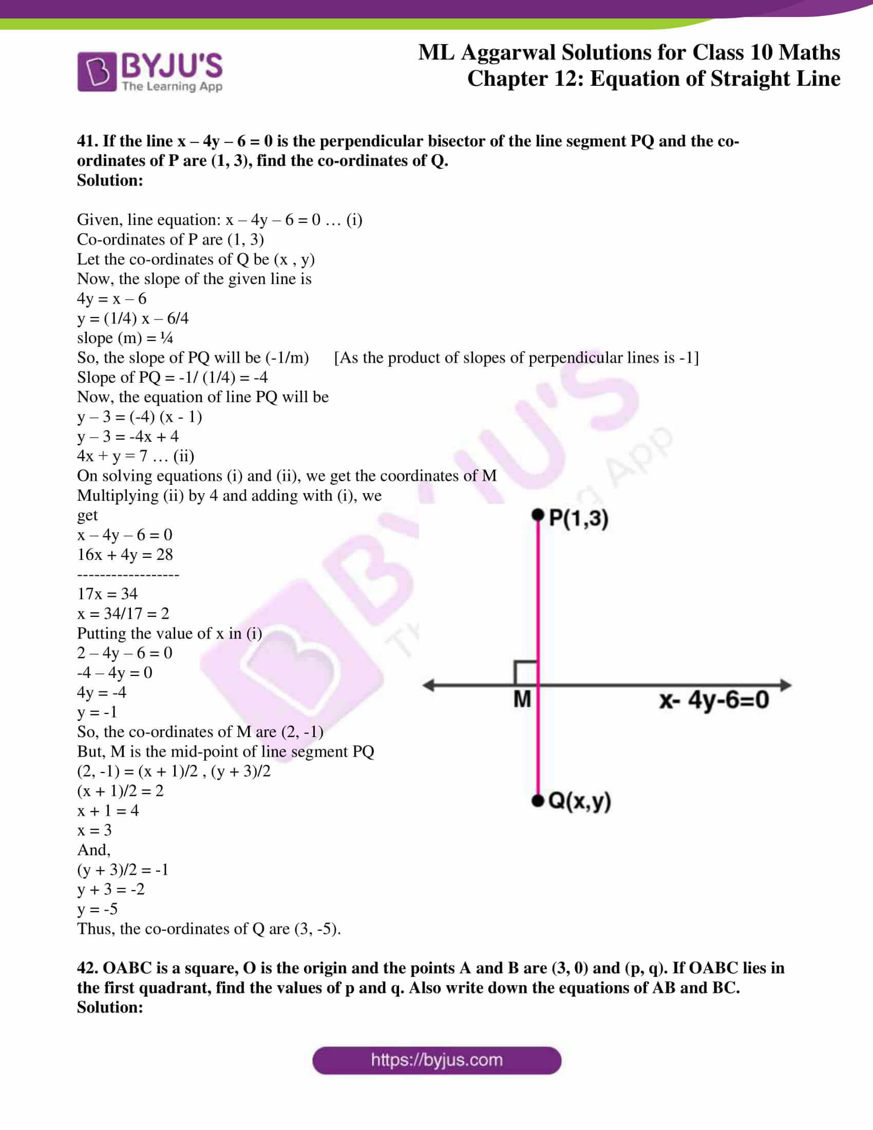 ml aggarwal solutions for class 10 maths chapter 12 34