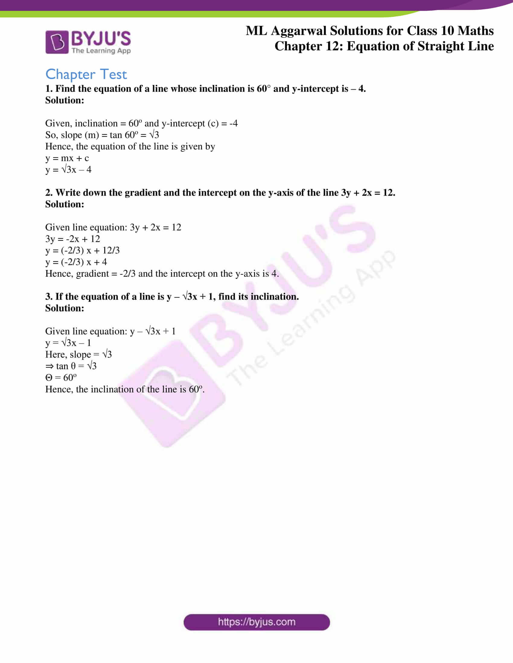 ml aggarwal solutions for class 10 maths chapter 12 36