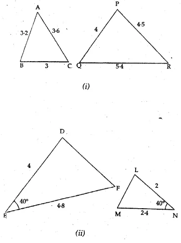 ML Aggarwal Solutions for Class 10 Maths Chapter 13 Similarity Image 1