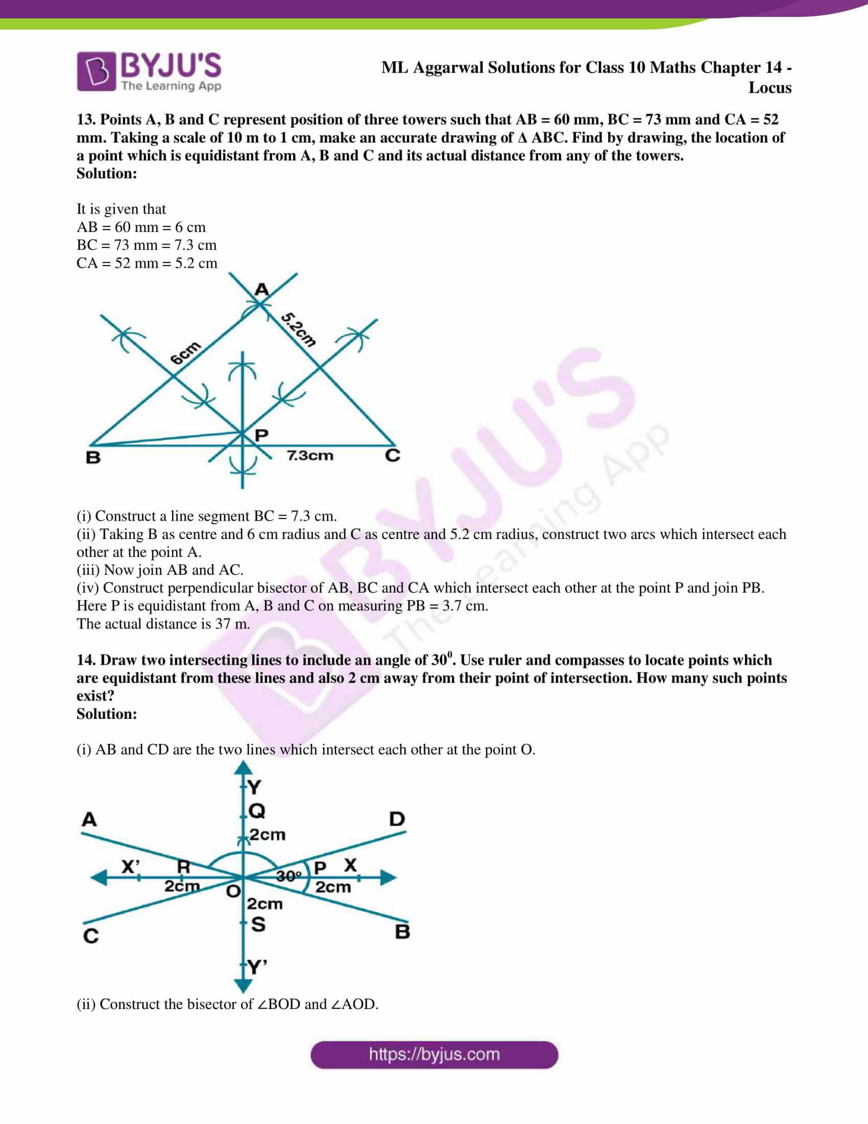 ml aggarwal solutions for class 10 maths chapter 14 13