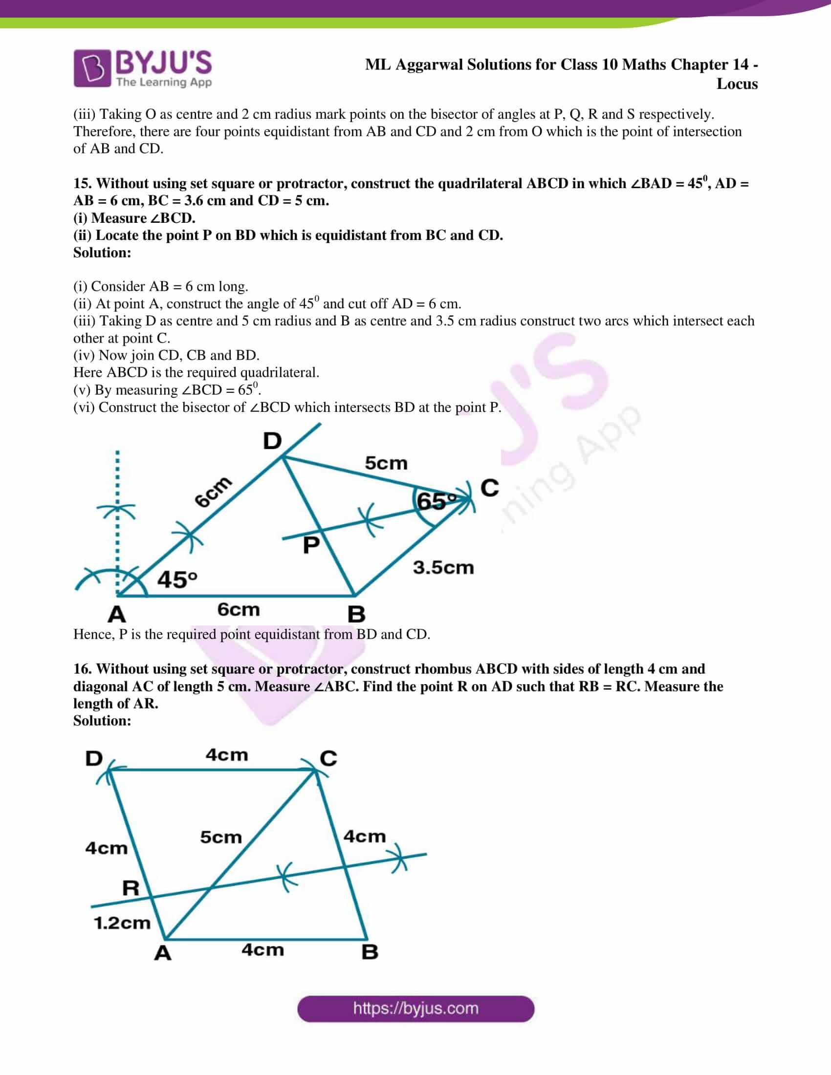 ml aggarwal solutions for class 10 maths chapter 14 14