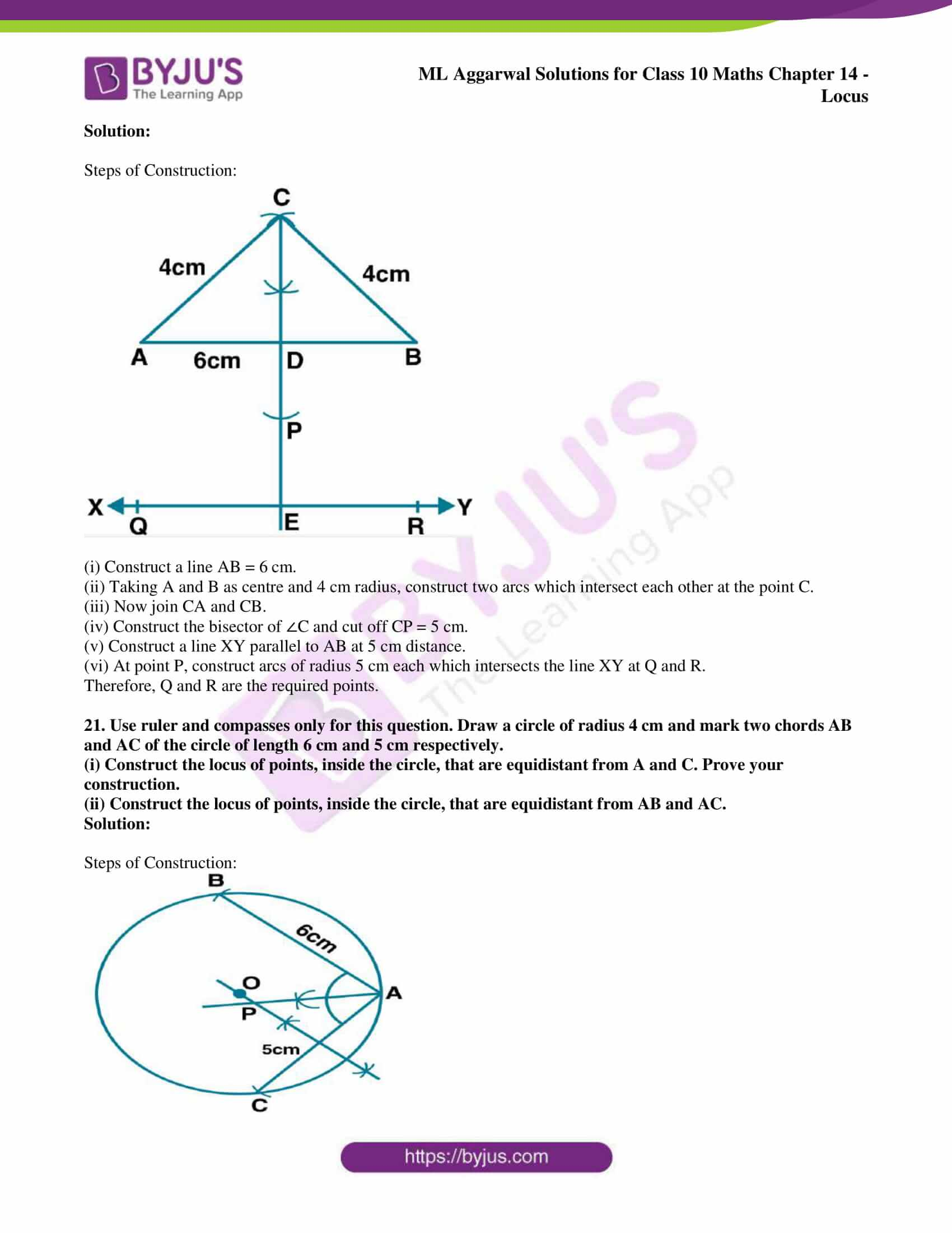 ml aggarwal solutions for class 10 maths chapter 14 17