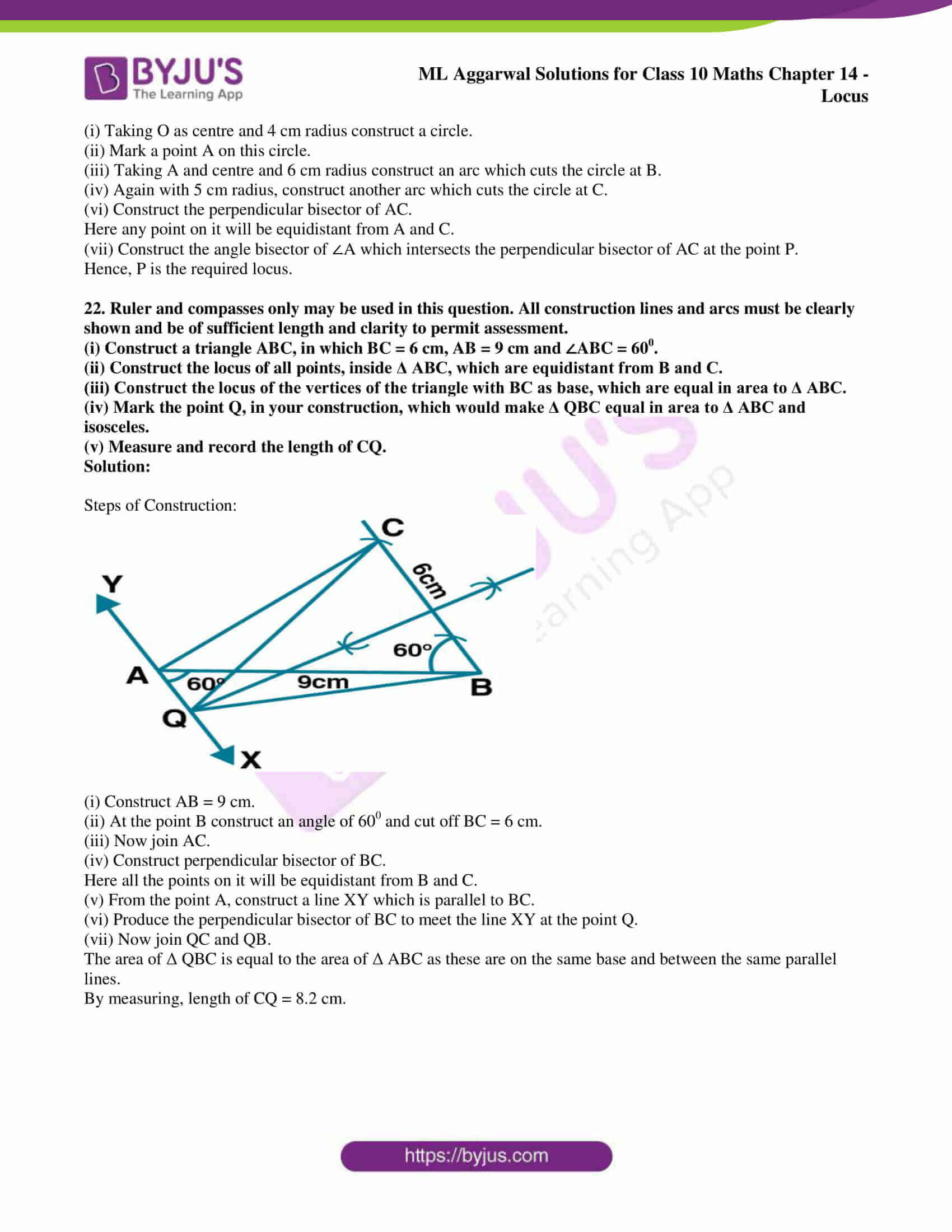 ml aggarwal solutions for class 10 maths chapter 14 18