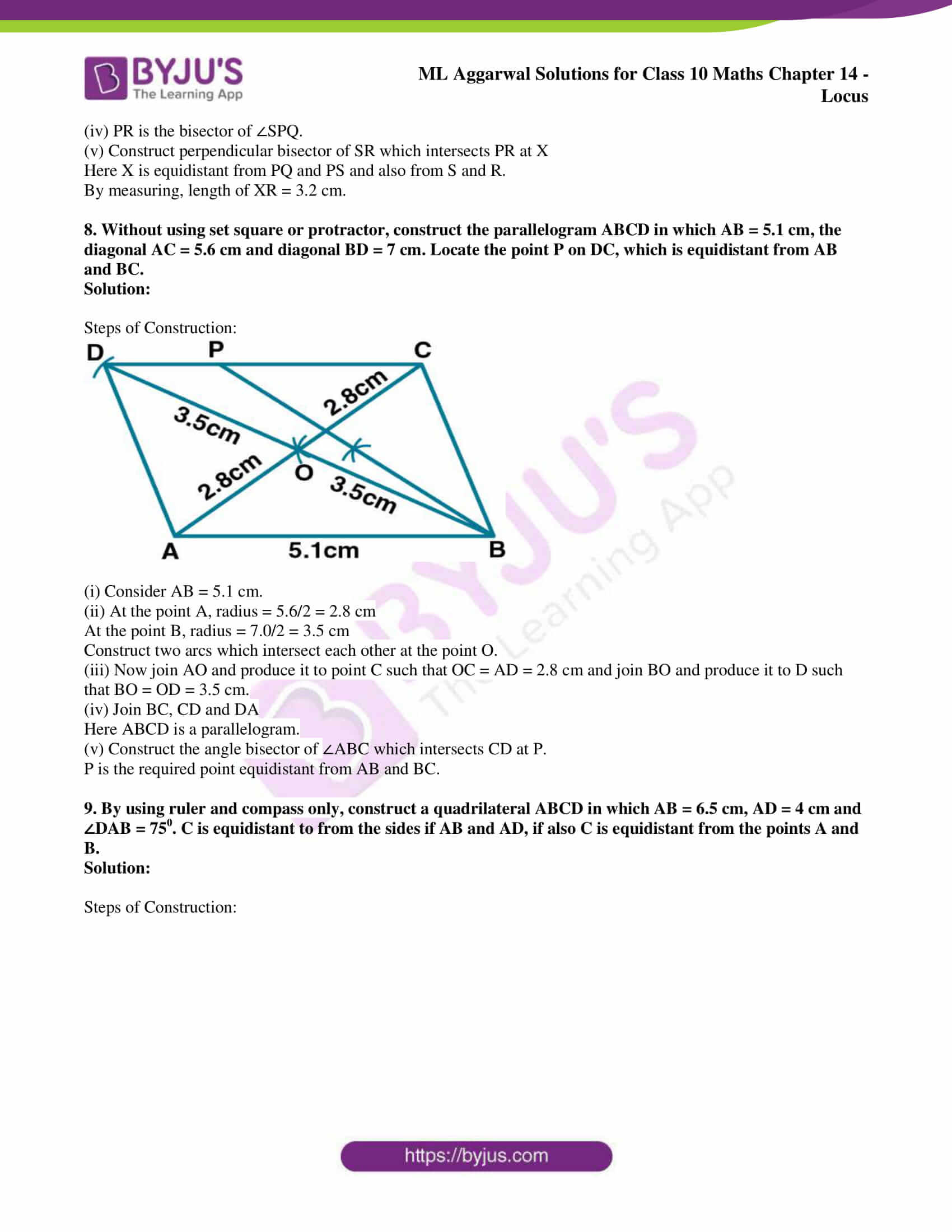 ml aggarwal solutions for class 10 maths chapter 14 23