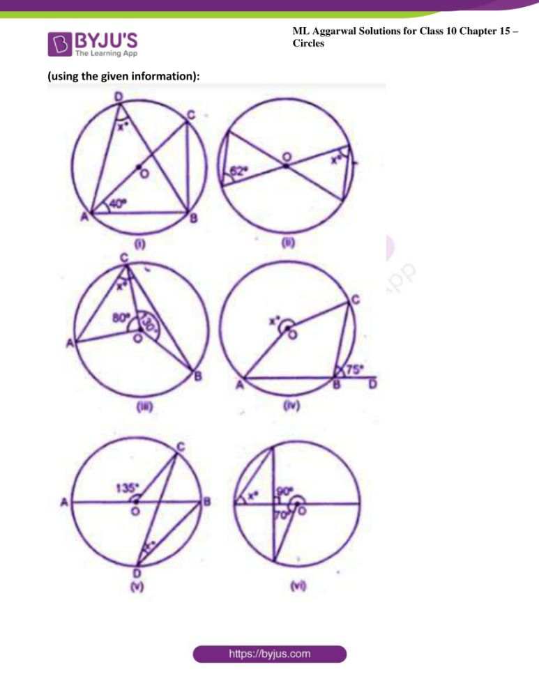 ml aggarwal solutions for class 10 maths chapter 15 circles 04