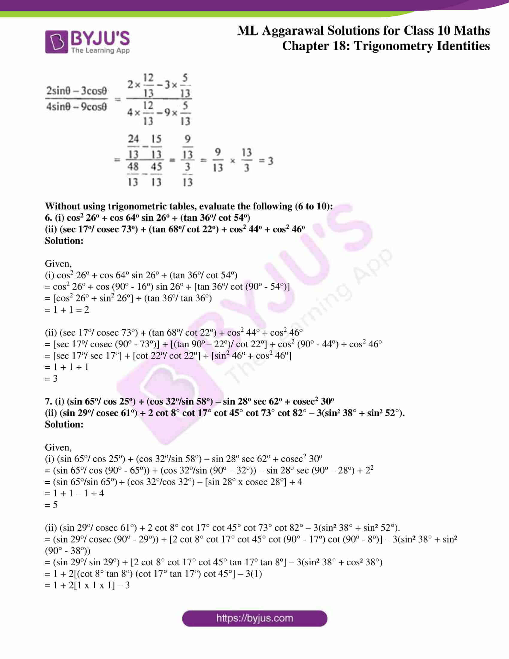 ml aggarwal solutions for class 10 maths chapter 18 03