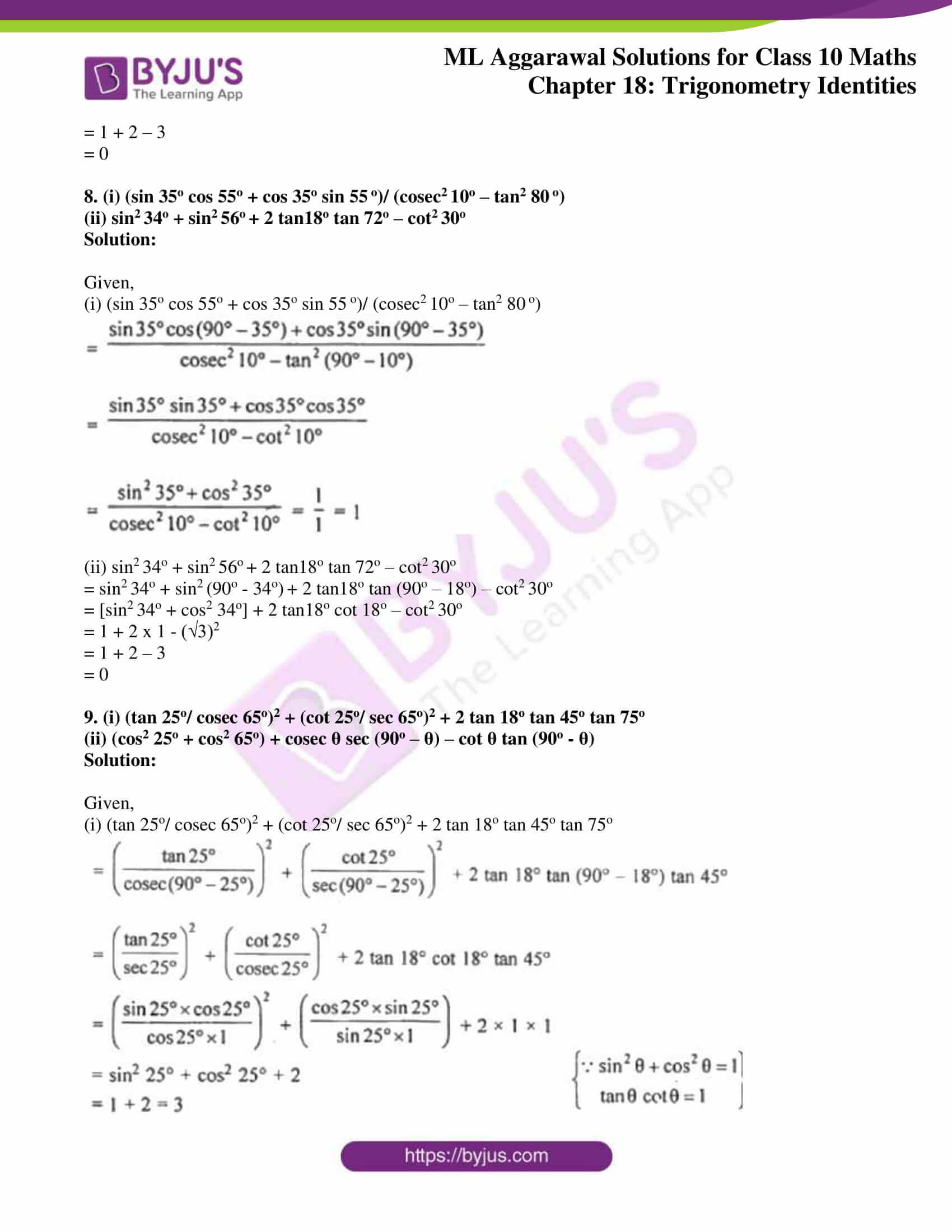 ml aggarwal solutions for class 10 maths chapter 18 04