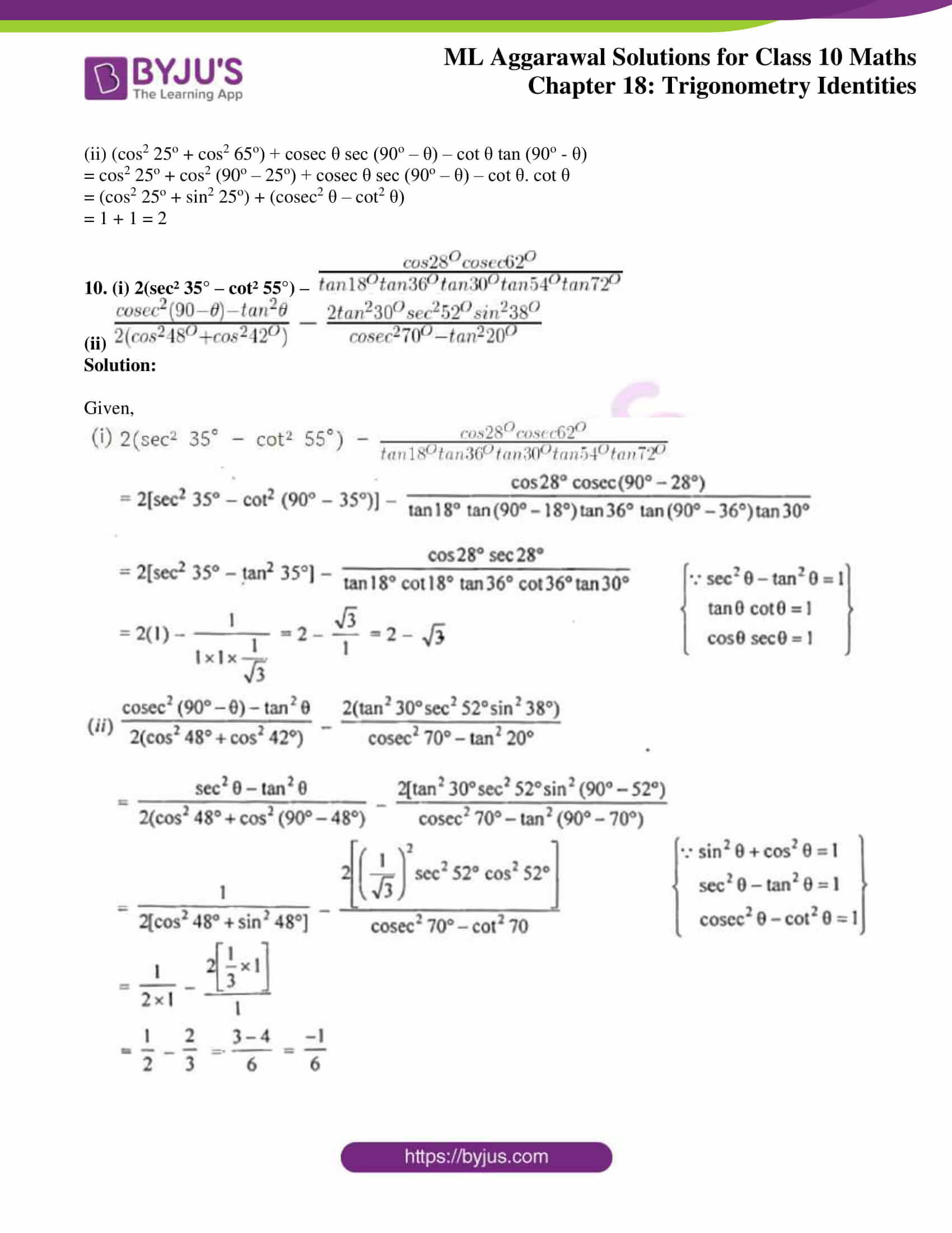 ml aggarwal solutions for class 10 maths chapter 18 05