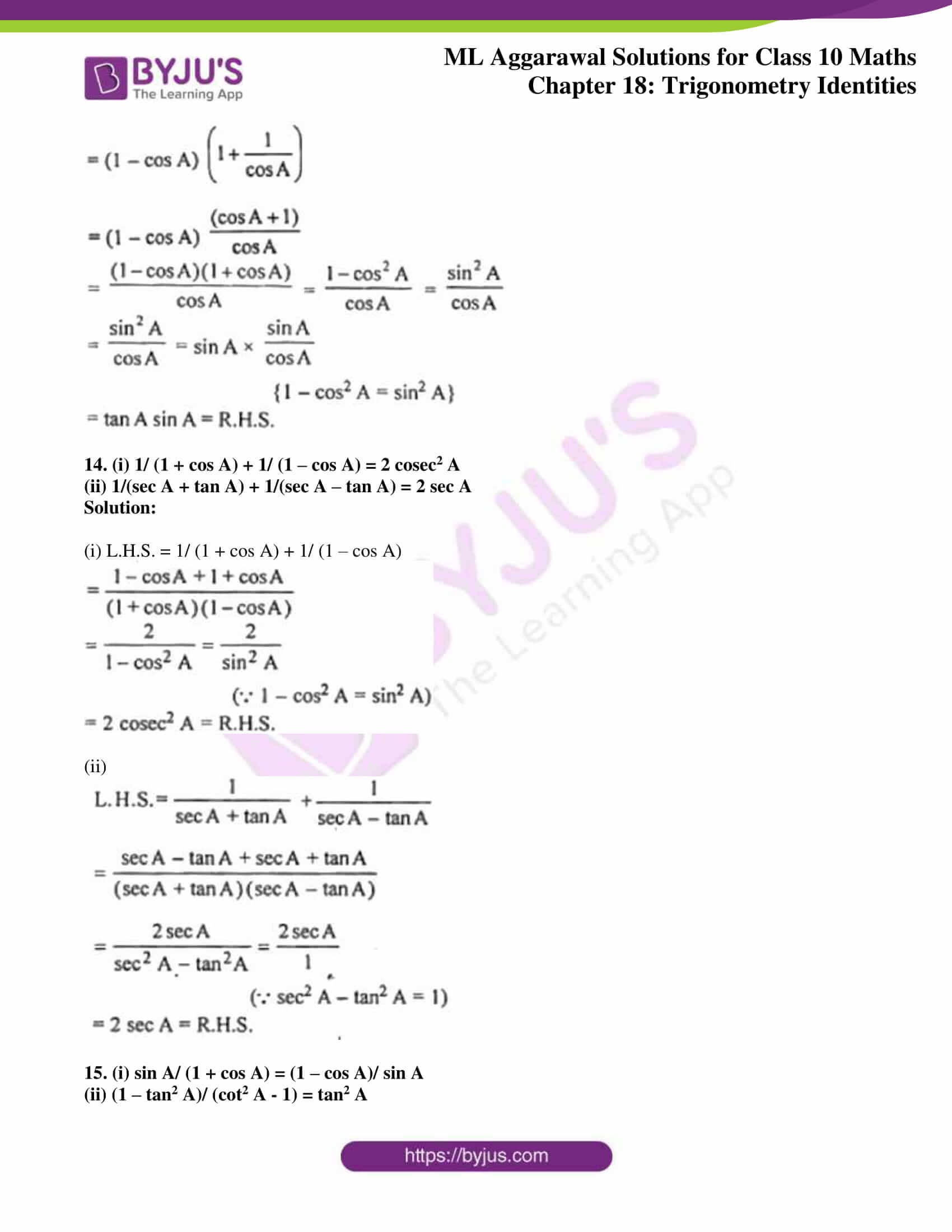 ml aggarwal solutions for class 10 maths chapter 18 08