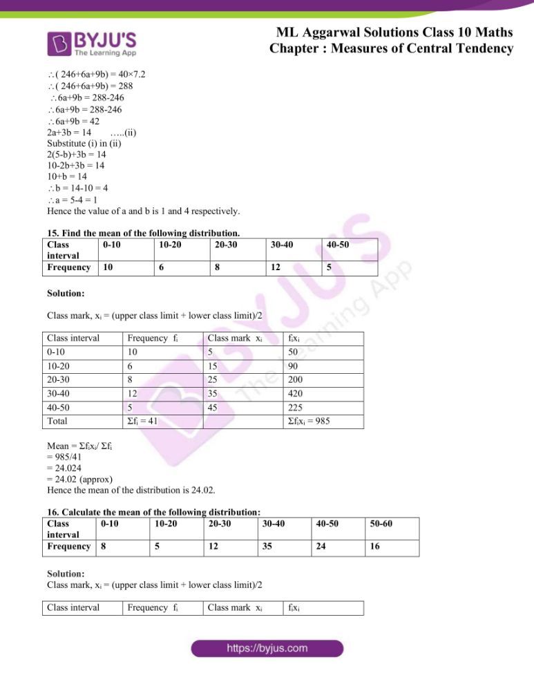 ml aggarwal solutions for class 10 maths chapter 21 measures 09