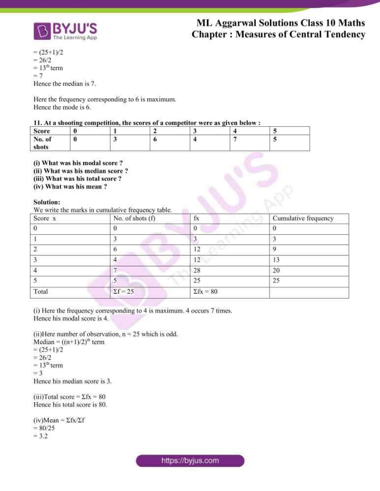 ml aggarwal solutions for class 10 maths chapter 21 measures 33