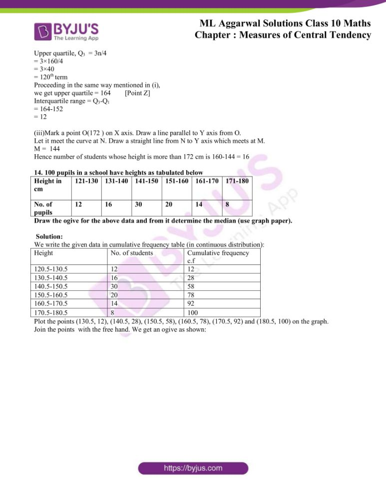 ml aggarwal solutions for class 10 maths chapter 21 measures 75