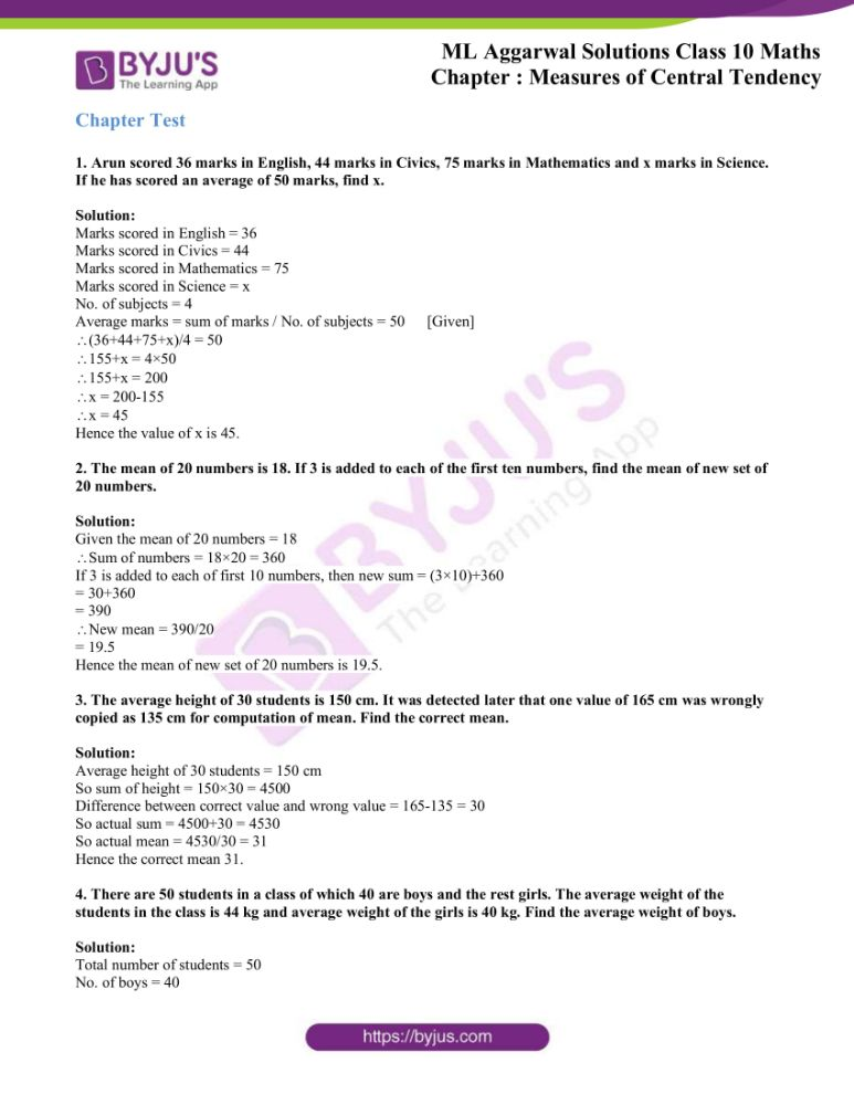 ml aggarwal solutions for class 10 maths chapter 21 measures 77