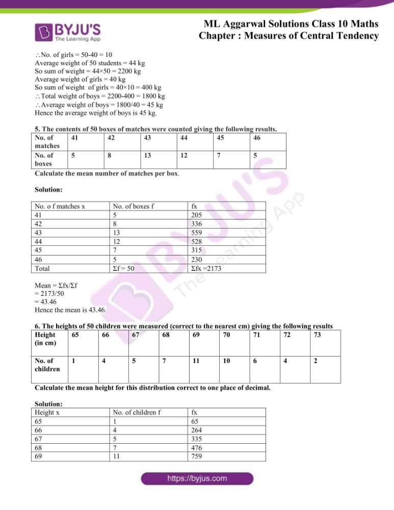 ml aggarwal solutions for class 10 maths chapter 21 measures 78