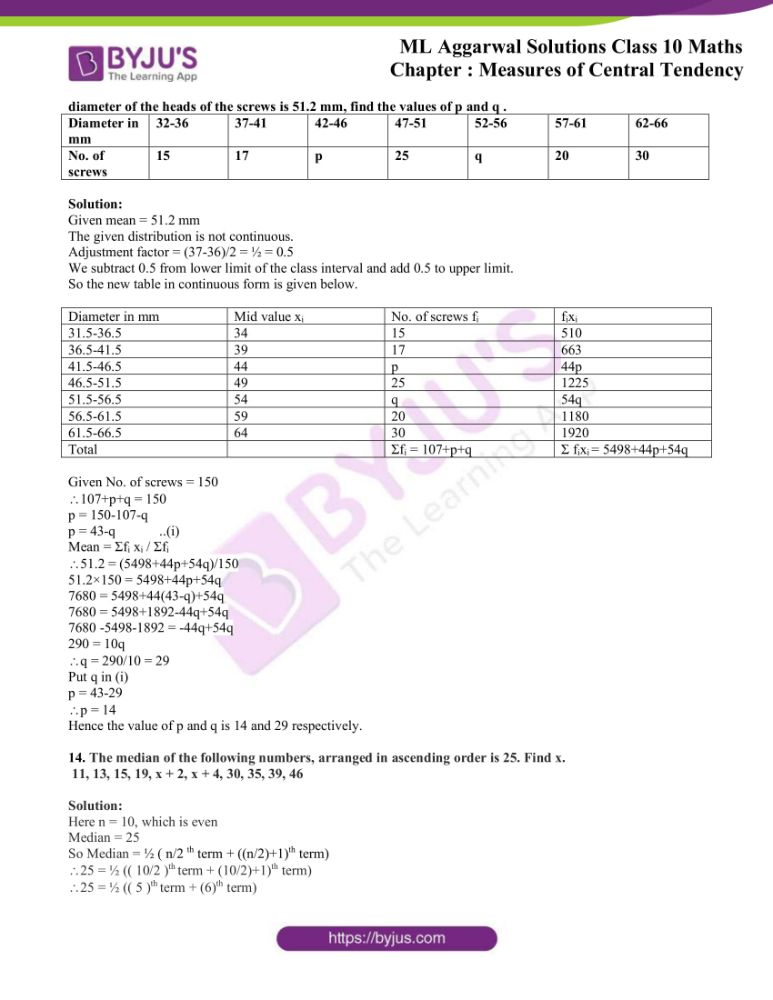 ml aggarwal solutions for class 10 maths chapter 21 measures 83
