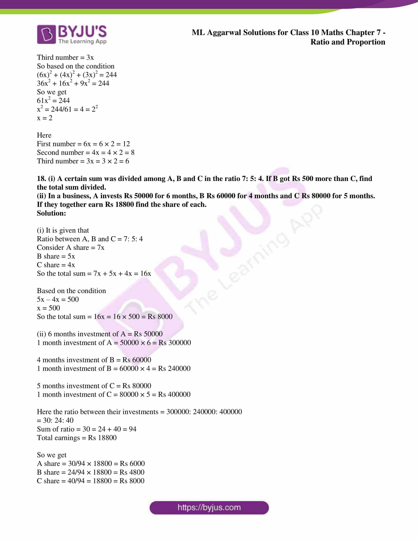 ml aggarwal solutions for class 10 maths chapter 7 11
