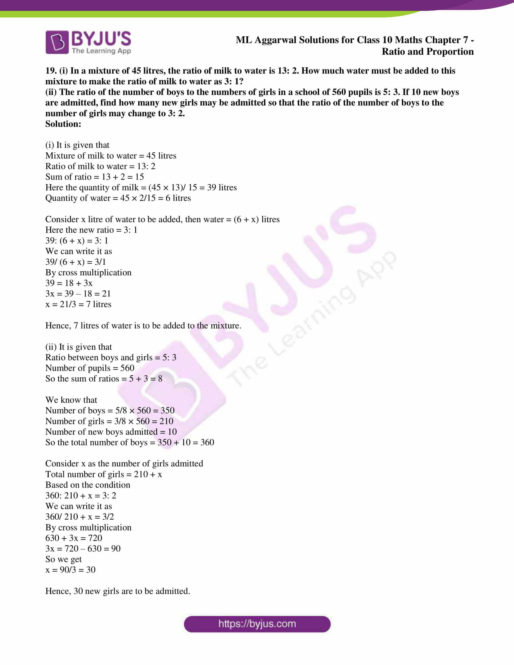 ml aggarwal solutions for class 10 maths chapter 7 12