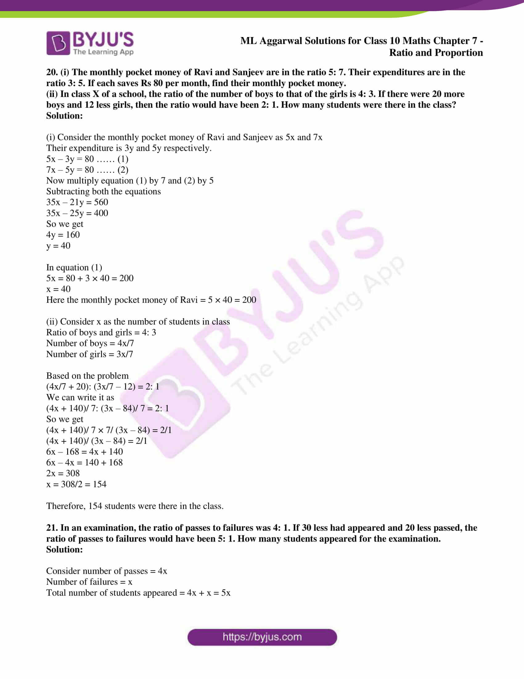 ml aggarwal solutions for class 10 maths chapter 7 13
