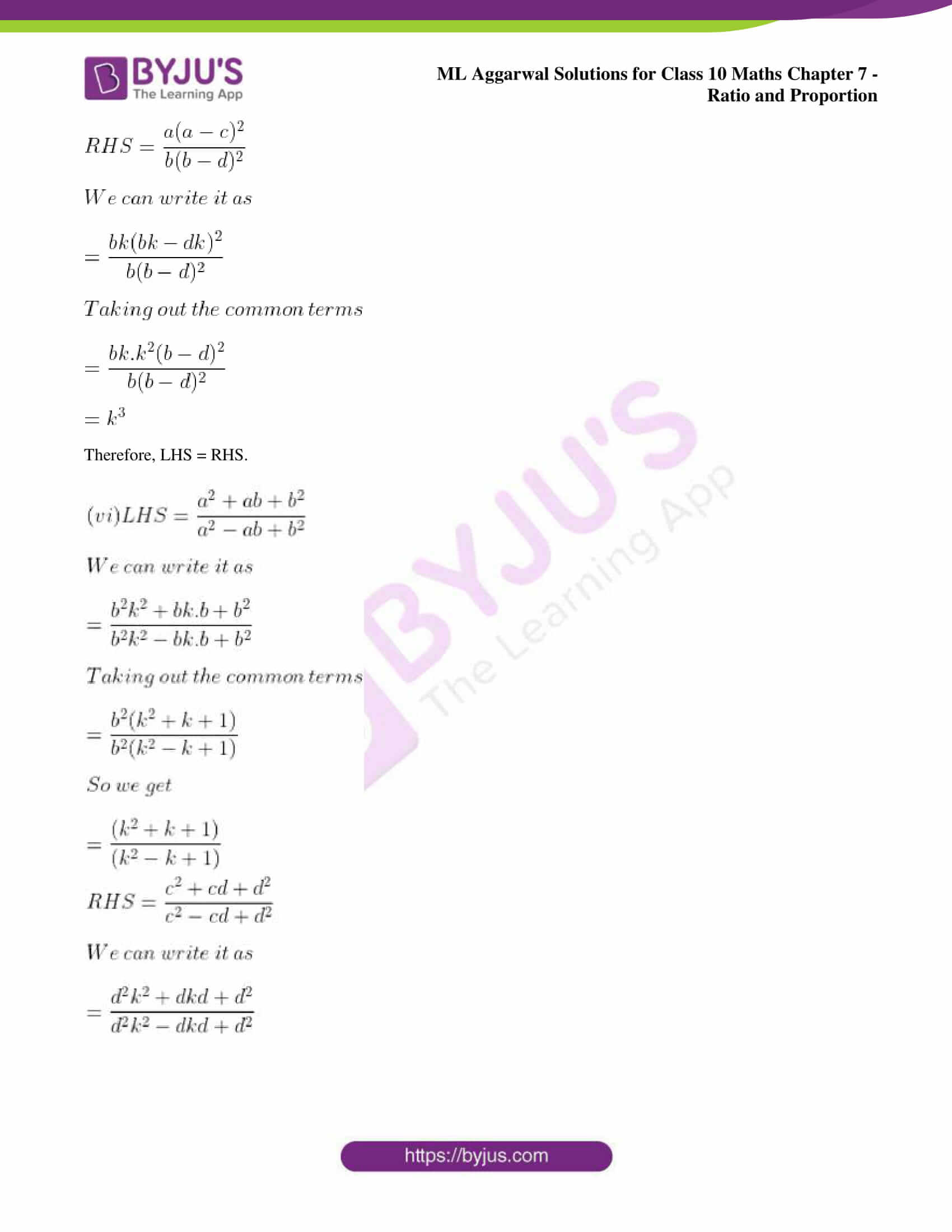 ml aggarwal solutions for class 10 maths chapter 7 32